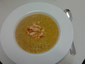 Papaya-Möhren-Suppe