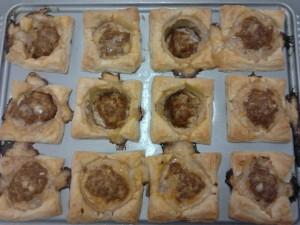 Fertige Hackfleisch-Muffins